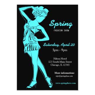 Fashion Show (Turquiose) Invite