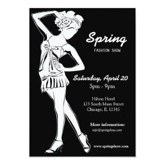 Fashion Show (White) Invites