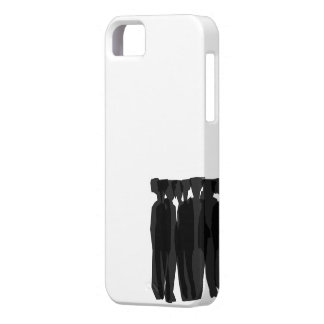 Fashion Silhouette Crowd iPhone SE/5/5s Case
