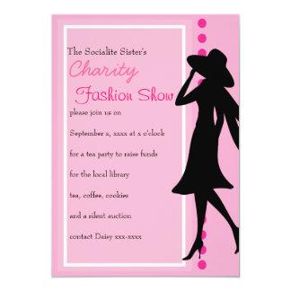 Fashion Silhouettes Personalized Invite
