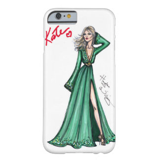Fashion sketch - Kate Moss. Barely There iPhone 6 Case