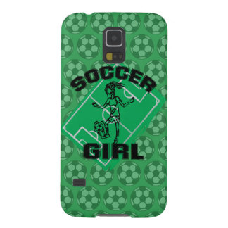 Fashion Soccer girl football design Galaxy S5 Cases