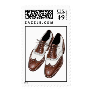 Fashion Stamps Classic Men's Saddle Oxford Shoes