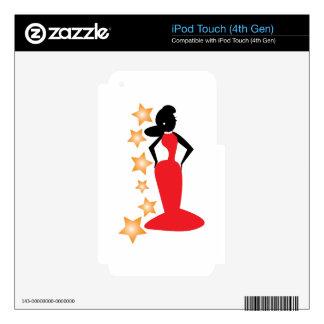Fashion Star iPod Touch 4G Skin