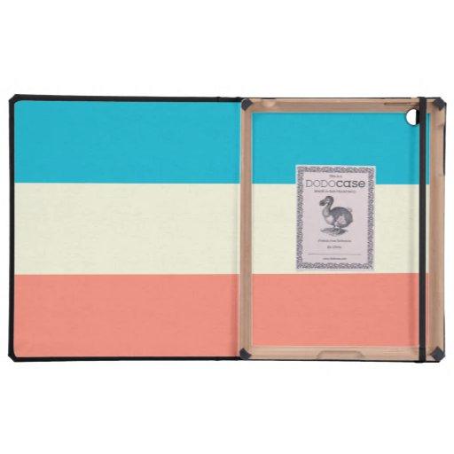Fashion Stripe iPad Case