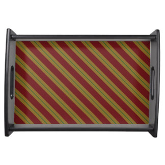 Fashion Stripe Serving Tray