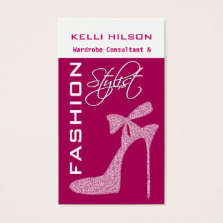 Fashion Stylist Business Cards