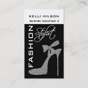 Wardrobe consultants business cards zazzle fashion stylist business cards colourmoves