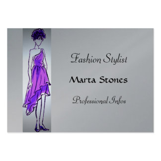 Fashion Stylist Chubby Card Large Business Cards (Pack Of 100)