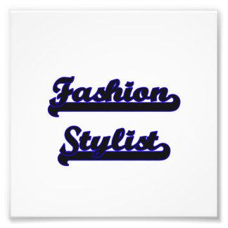 Fashion Stylist Classic Job Design Photo Print