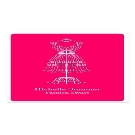 Fashion stylist business cards colourmoves