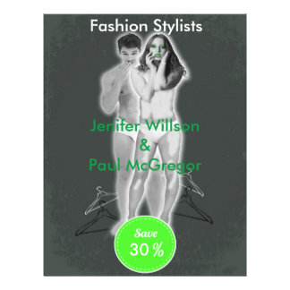 Fashion Stylists Discount Offer Flyer