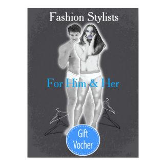 Fashion Stylists Gift Voucher Card