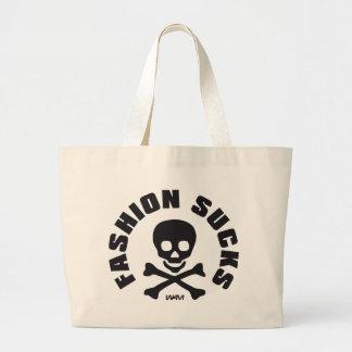 FASHION SUCKS CANVAS BAG