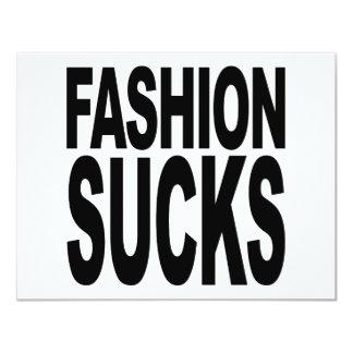 Fashion Sucks Card