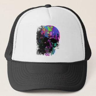 Fashion Summer Skull Skeleton Dead Man Reborn Trucker Hat