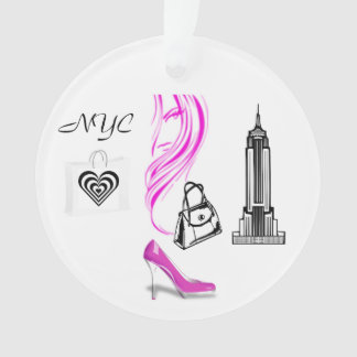 Fashion Theme New York City Ornament
