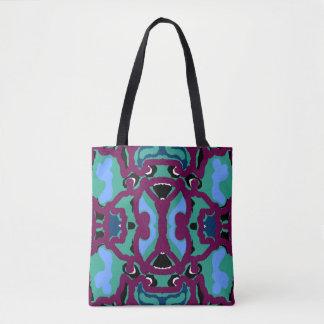 Fashion Tote Bag on Maroon,Green,Blue,White,Black