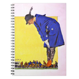 Fashion Versus Football 1900 Notebook