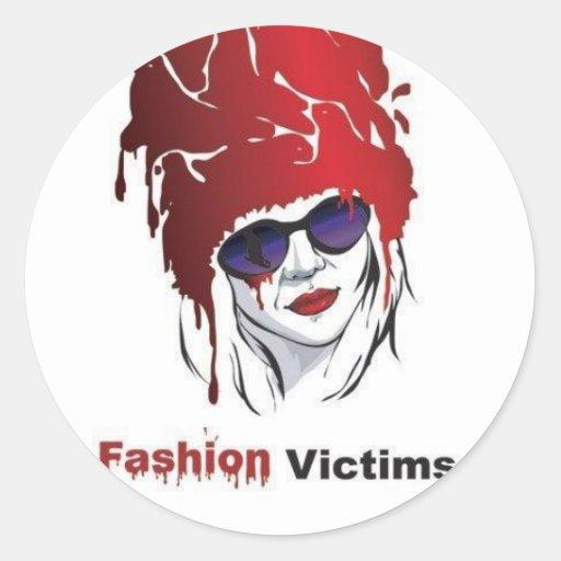 Fashion Victims: Help the Seals! Classic Round Sticker