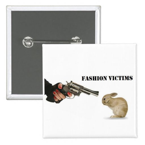 Fashion Victims Pins