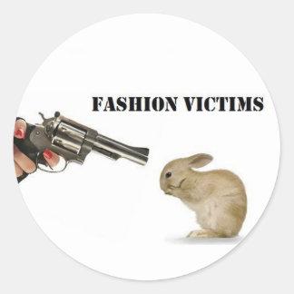 Fashion Victims Sticker