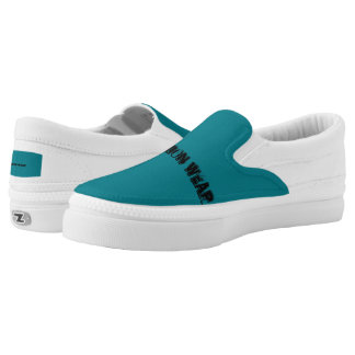 Fashion wear slip on shoes printed shoes