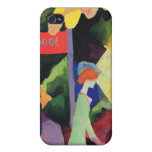 Fashion window by August Macke iPhone 4/4S Case