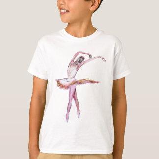 fashion with the pink ballerina dance design T-Shirt