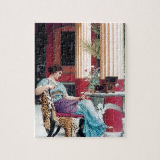 Fashion Woman Jewel Case Painting Jigsaw Puzzles