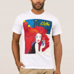Fashion woman with coffee cup T-Shirt