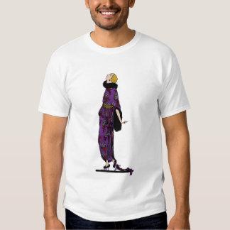 Fashionable 1920s Flapper T-shirt