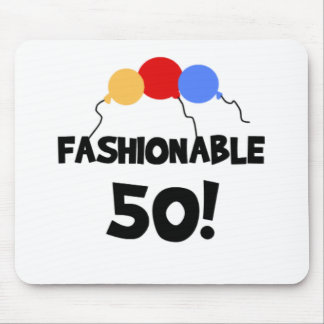 FASHIONABLE 50 MOUSE PAD