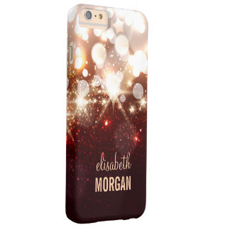 Fashionable and Stylish Gold Glitter Sparkle Barely There iPhone 6 Plus Case
