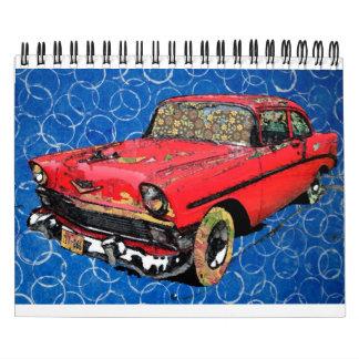 Fashionable Automobiles Calendar