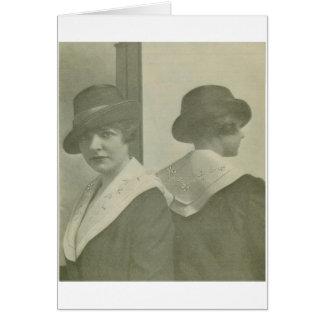 Fashionable Corner Card