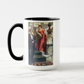 Fashionable Couple Ready for a Night Out Mug
