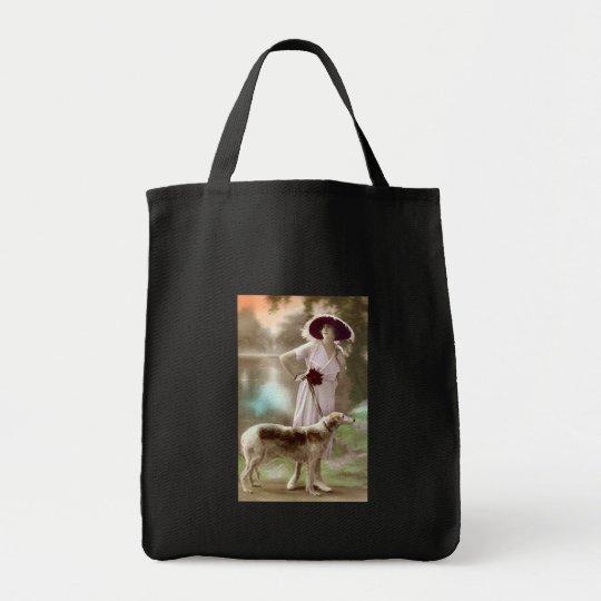 Fashionable Dog Walk Tote Bag