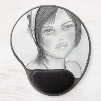 Fashionable Flapper Gel Mouse Pad