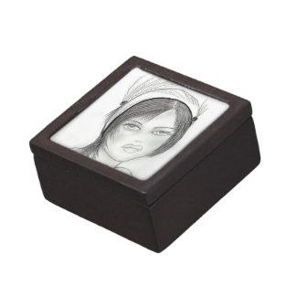 Fashionable Flapper Keepsake Box
