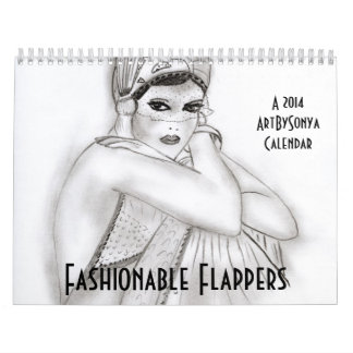 Fashionable Flappers Calendar