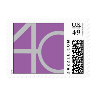 Fashionable Forty Postage