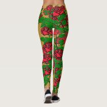 Fashionable Glamour - Rose Leggings