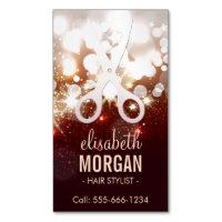 Fashion business cards 21200 fashion business card templates large business cards fashionable hair stylist gold glitter sparkle fbccfo Choice Image