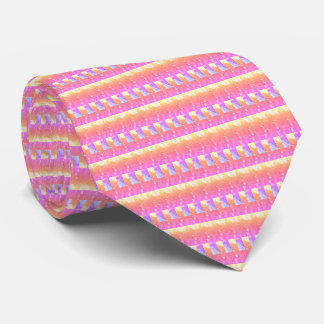 Fashionable Hot Pink tie - elegant, bright, line