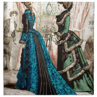 FASHIONABLE LADIES VINTAGE 39 CLOTH NAPKIN
