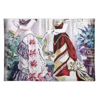FASHIONABLE LADIES VINTAGE 41 PLACEMAT