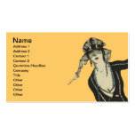 Fashionable Lady Business Card
