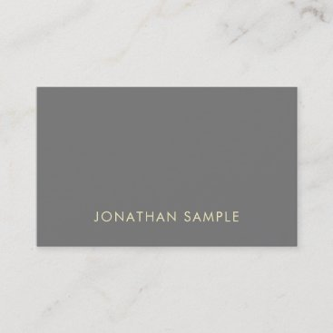 Fashionable Professional Modern Design Luxury Business Card