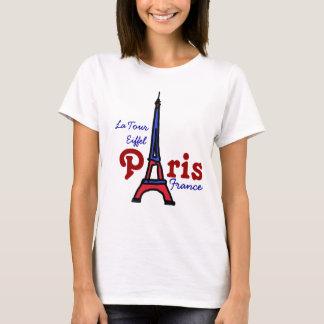 fashionable touristic Eiffel Tower Paris T-Shirt